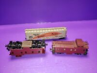 AS IS ASSORTED FOR PARTS HO TRAIN RAILCAR LOT ALL NEED REPAIRS OR CLEANING