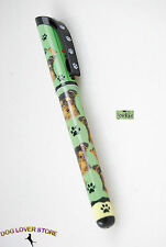 Yorkie Dog Pen Replaceable Ballpoint Black Ink Puppy Cut