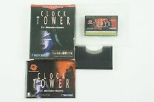 Clock Tower WS naxat Bandai Wonderswan Box From Japan
