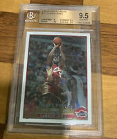 2003-04 LEBRON JAMES TOPPS CHROME #111 ROOKIE RC BGS 9.5 GRADED NICE PSA 10?