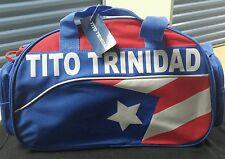 Felix Tito Trinidad Bulto de mano. Diseño bandera PUERTO RICO.