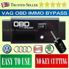 2018 VAG OBD IMMO BYPASS KEY PROGRAMMER IGNITION EMULATOR OBD LOCKSMITH TOOL
