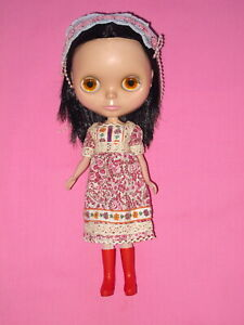 """2001 Hasbro - Brunette BLYTHE 11"""" Doll"""
