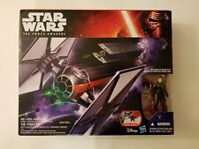 Star Wars: CHOOSE YOUR First Order Black TIE Fighter w Tie Fighter Pilot - New
