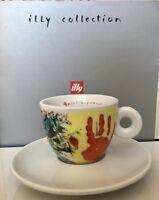 """illy / AMICI collection Espresso Tasse """"Los niños cambiaremos el mundo"""",  1998"""