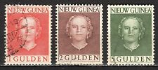 Dutch New Guinea - 1950 Definitives Juliana - Mi. 19-21 VFU