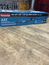 "Makita XRW01Z 18V LXT Li-Ion Cordless 3/8""+1/4"" Sq  Drive Ratchet (Tool Only)"