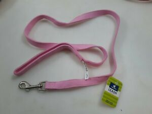 Top Paw 5/8 In-4ft Pink Leash With Comfort Handle DS Bling leash