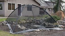 EasyPro Pct810 Pond Garden Cover Protective Net Tent Dome Netting 8ft by 10ft