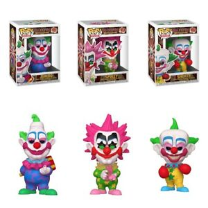 POP! MOVIES KILLER KLOWNS FROM OUTER SPACE SET OF 3 JUMBO, SPIKEY & SHORTY FUNKO