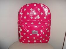 CATH KIDSTON KIDS / GIRLS PINK BUTTON SPOT BACKPACK NEW