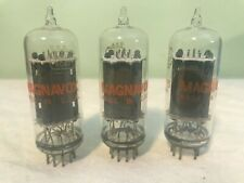 Vintage Magnavox 6CG7 Audio Tube NOS MIB MATCHED TRI CLEAR TOPS