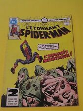 1982 SPIDER-MAN #131 # 132   RARE FRENCH CANADA HÉRITAGE VARIANT DOUBLE ISSUE