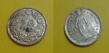 SVIZZERA - 1/2 Franco Svizzero in argento - anno 1952 - 389