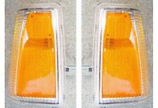 VOLVO 7401983-89 760 1985-86 FRONT CORNER PARKING LIGHT  SET OF 2 NEW