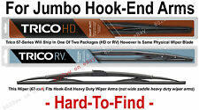 "TRICO 67-324 Wiper Blade (for RV Bus & Commercial Truck) 32"" HD 12x4 Hook Arms"
