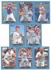 2013 Bowman Blue Parallel #197 Delmon Young #/500 Phillies