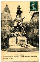 CPA 06 Alpes-Maritimes Nice Monument Léon Gambetta
