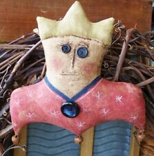 PRIMITIVE LADY LIBERTY DOOR HANGER AMERICANA MAILED PATTERN ~  QUICK AND EASY!!