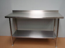 OVER WRAP WRAPPING DELIVERY PACKING STAINLESS STEEL COMMERCIAL CATERING TABLE