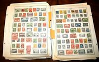 CatalinaStamps:  Worldwide Stamp Collection in Stockbook/Pages, 9929 Stamps,D347