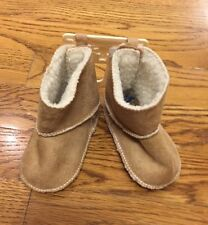 Baby Gap Boots Booties Shirpa Beige 3-6 Months