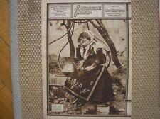 BAGNOLI DEL TRIGNO COSTUMI REGIONALI 1929 COPERTINA L'ILLUSTRAZIONE FASCISTA