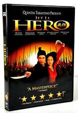 Hero (Dvd, 2004) Classic Period Piece, Martial arts, Quentin Tarantino, Jet Li