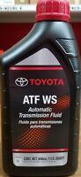 Scion Toyota / Scion / Lexus Genuine ATF WS Trans Fluid 6QT