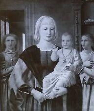 Madonna and Child With Angels, Piero Della Francesca, Magic Lantern Glass Slide