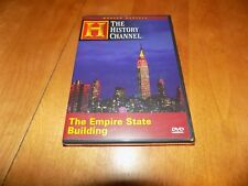 THE EMPIRE STATE BUILDING  New York City Modern Marvels History Channel DVD NEW