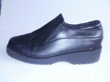 SPRING STEP WOMEN'S BLACK LEATHER LOAFERS SIZE 10/41 M