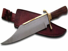 Leather Handle Bowie Collectable Modern Fixed Blade Knives