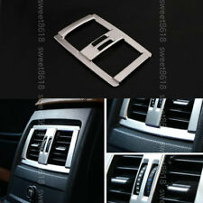 Stainless Rear Air Outlet Frame Cover Trim For BMW 4 Series F32 F33 F36 14-2017