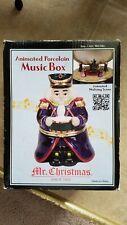 Mr. Christmas Animated Porcelain Music Box. Nutcracker March. 901584