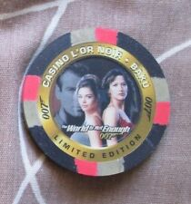 JAMES BOND TWINE C3 104/3000 CASINO POKER CHIP (Inkworks 1999) VERY LOW NUMBER