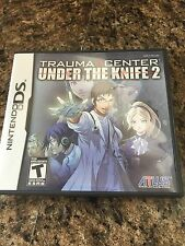 Trauma Center: Under the Knife 2 (Nintendo DS, 2008) TESTED Works NG3