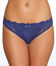 NWT $32   CHANTELLE    SIZE SMALL    3087 / 0E   NAVY BLUE  PANTY BRIEF