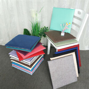 Cushion Seat Chair Pad Garden Dining Yard Patio Office Indoor Floor Mat Armchair