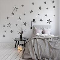 83  Aufkleber Sterne  Wandtattoo Möbel Fenster Fliesen selbstklebend XXL Set