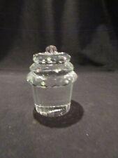 Vintage Oleg Cassini Crystal Cupcake Paperweight Figurine