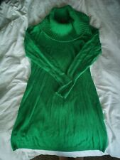 MONSOON Green Bodycon Jumper Dress UK12