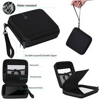 Shockproof Storage Case Carry Bag Pouch For CD DVD Writer Blu-Ray & Hard Drive