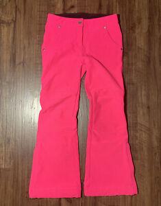 Obermeyer Girls Winter Snow Ski Snowboard Pants Pink Size M 10-12