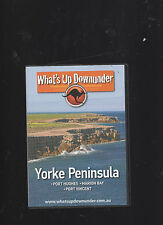 NEW:What's up downunder DVD Yorke Peninsula Port hughes/Marion Bay/Port Vincent