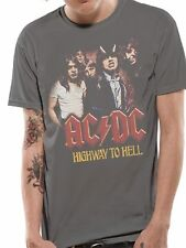 AC/DC Highway To Hell Vintage T-shirt OFFICIAL All Sizes Red Logo Bon Scott