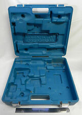 MAKITA LXT218 PLASTIC CARRY CASE METAL LATCHES HOLD TOOLS BLUE