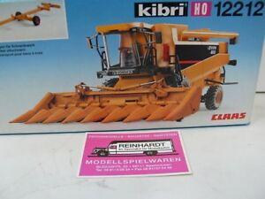 1/87 Kibri 12212 Lexion Claas Mähdrescher m Maisgebiss