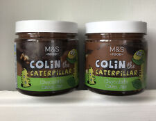 💗 2 x M&S Colin The Caterpillar Cake In A Jar - Worldwide Post 💗