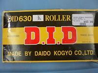 NOS D.I.D 630K Heavy-Duty Standard Chain 62 Links 122492